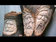 ▶ Wood Spirit carving tips. - YouTube