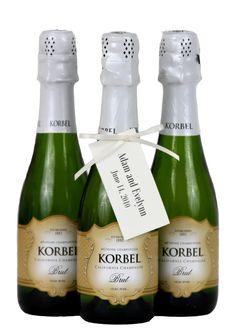 KORBEL personalized #favors! Order online: korbel.com