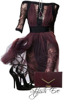 """Don't like the necklace..otherwise perfect  """"NADA"""" by stylisheve ❤ liked on Polyvore."""