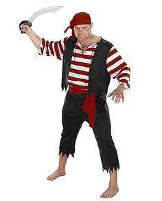 Adult Seven Seas Mate Pirate Costume - Spirithalloween.com