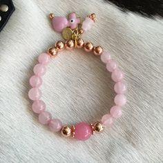 Rose Gold Bangle Pink by SiennabohoTC on Etsy
