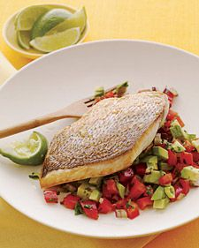 Snapper, a popular white-fleshed fish with a firm texture and mild flavor, is great for all kinds of preparations: grilling, searing, frying, braising, steaming, and more. Gray snapper and yellowtail or rainbow snapper wild-caught in the U.S. are among the most ocean-friendly choices.