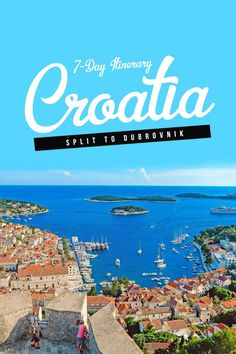 Croatia is best explored by yacht! So if you're planning a Mediterranean vacation, here's a 7-day itinerary from Split to Dubrovnik with MedSailors. via http://iAmAileen.com/7-day-itinerary-guide-sail-croatia-split-dubrovnik/ #sailcroatia #medsailors #spl