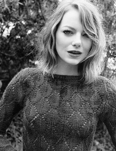 Emma Stone for The Wall Street Journal 2015