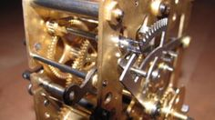 gustav becker box clock Antique Wall Clocks, Clock Repair, Time Clock, Antiques, Box, Antiquities, Antique, Snare Drum, Old Stuff