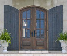 Love this one too, if you decide on doing an arch.  Country French Exterior Wood Entry Door Style DbyD-2423