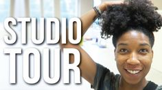 EMPTY STUDIO TOUR! August 10-17, 2016 | Naptural85 Vlog