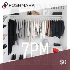 Theme Announced! Wardrobe Goals Posh Party ♥️ Excited to be hosting my 2nd Posh Party! Comment below so that I can check out your closet for host picks! Other
