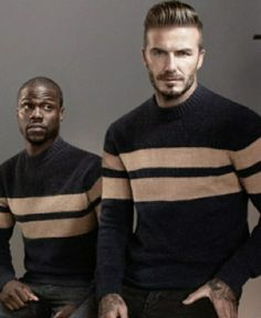 David Beckham and Kevin Hart for H&M