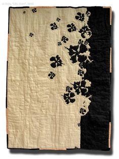 "Ruth Broeckmann, ""Lilia Nero"", Other/ Multi disciplinary, Quilt, Textile, 2007, 150 x 200 cm"