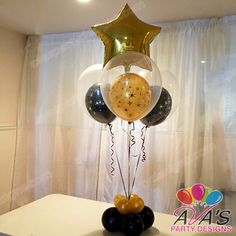 Balloon Centerpieces | Fairfield County, CT + NY | 203.244.7844