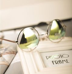 Ponderar cor deslumbramento triângulo refletivo lens circular oco armação de metal óculos de sol óculos de sol em Óculos Escuros de Roupas e Acessórios Femininos no AliExpress.com   Alibaba Group