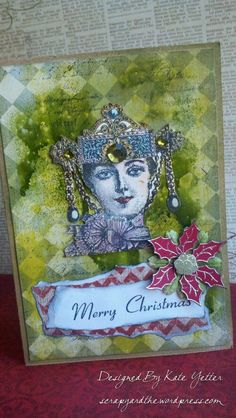 Mixed media cards with Paper Artsy Stamps