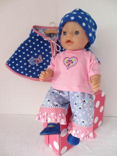Voor Baby Born Girl een super leuke set www.rosalinpoppenmode.nl te koop in de webwinkel