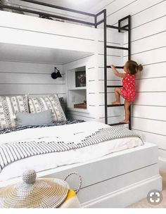 Trendy kids room ideas for girls bunk beds boys Guest Bedrooms, Bed Design, Bedroom Furnishings, Bed For Girls Room, Bedroom Design, Loft Bed, Loft Spaces, Bunk Bed Rooms, Bunk Bed Designs