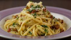 If you're snowed in, we will make you hungry w Top 10 Recipes & co-host @catdeeley. #1 recipe- John's fav Carbonara!