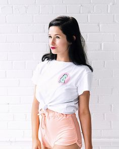 Chic Outfits, Fashion Outfits, Womens Fashion, Emma Verde, High School Outfits, Youtubers, White Shorts, Clothes, Beautiful