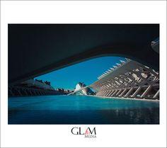 Ciudad de las artes y las ciecias Travel to  Spain, Valencia calator by www.glamartmedia.com