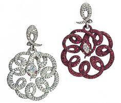 Antonio Seijo snake earrings