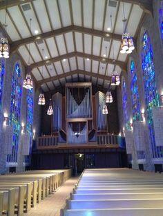 Organ at Millar Chapel