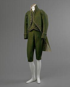 Suit 1790 The Metropolitan Museum of Art