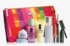 Nordstrom Bonus time: Double Clinique Gift with Purchase with $32 Clinique purchase 8 piece gift set