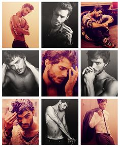 Jamie Dornan - The many shades of Fifty OOOh I think Jamie will make a perfect Christian Grey.....