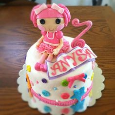lalaloopsy birthday cake mold