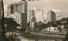 1921 - Avenida 9 de Julho.