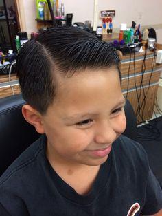 Little boys haircut