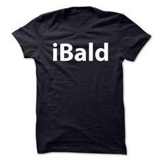 iBald - iPod Parody T-Shirt Hoodie Sweatshirts oae