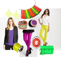 Color Block 2- How to Wear Neon