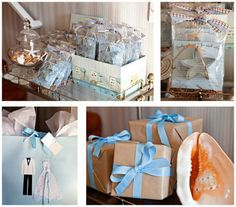 Bridal Shower Beach Theme Centerpieces | hosted a bridal shower for our cousin it was a beach themed shower ...