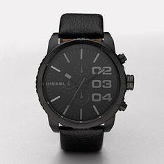 My new watch!! Love it! DIESEL Watch,Double Down 51 DZ4216 | WatchStation® Online Store