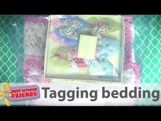 How to tag bedding for the Just Between Friends sales. Just Between Friends is North America's Leading Children's and Maternity Consignment Sales event. Between Friends, Idaho, Bedding, Tags, Learning, Youtube, Bed Linens, Studying, Teaching