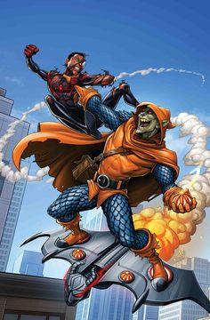 Duende Macabro vs Homem-Aranha (Miles Morales)