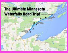The Ultimate Minnesota Waterfalls Road Trip Is Right Here – And You'll Want To Do It The Ultimate Minnesota Waterfalls Road Trip<br> From Gooseberry to Grand Portage, you'll love this road trip featuring MN's best waterfalls! Grand Portage State Park, State Parks, Grand Marais Minnesota, Minnesota Camping, Family Vacation Destinations, Travel Destinations, Family Vacations, Cruise Vacation, Disney Cruise
