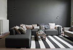 La peinture salon grise est parfaite pour l'aménagement et la déco de votre espace.Cette couleur élégante vous offre beaucoup de nuances qui rendront votre