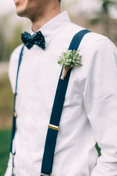 Succulent boutonniere: http://www.stylemepretty.com/2016/06/13/12-boutineers-your-hubby-will-want-to-pin-on/