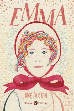 Penguin Books pretty embroidered cover series. love!