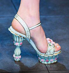 Dolce & Gabbana fall 2012 shoes1