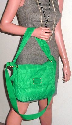 Marc By Marc Jacobs New Lil Ukita Flap Quilted Nylon Rare Color Green Cross Body Bag. Get the trendiest Cross Body Bag of the season! The Marc By Marc Jacobs New Lil Ukita Flap Quilted Nylon Rare Color Green Cross Body Bag is a top 10 member favorite on Tradesy. Save on yours before they are sold out!