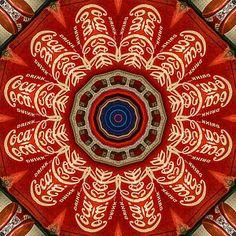 Coca Cola Photograph - Coca-cola Mandala #2 by Betty Denise