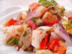 Salpicón de surimi