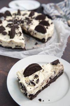 Homemade Pie, Homemade Muesli, Oreo Cheesecake Recept, Good Food, Yummy Food, Oreo Cake, Happy Foods, Cookie Desserts, Tray Bakes