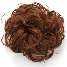 Synthetic Messy Hair Bun Extension Chignon Hair Piece Wig