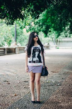 Look: The Cat Lady 		   por Bruna Vieira | Depois dos Quinze 		   		   - http://modatrade.com.br/look-the-cat-lady