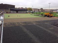 #Sandfilled - http://www.sportsandsafetysurfaces.co.uk/surface-types/sand-filled/surfacing/