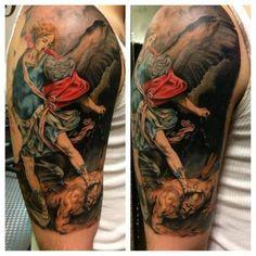 Archangel Michael Tattoo