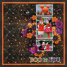 Layout made for the SSD October Bingo Challenge #2 - use black as your background paper.   #believeinmagic: Halloween Party Collection by Amber Shaw & Studio Flergs http://www.sweetshoppedesigns.com/sw...777&page=1  Fuss Free: Dots and Bows 2 by Fiddle-Dee-Dee Designs available at Scrap Orchard